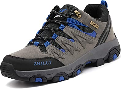 Lvptsh Zapatillas de Trekking para Hombre Botas de Montaña Zapatillas de Senderismo Calzado de Trekking Botas de Senderismo Antideslizantes AL Aire Libre Transpirable Sneakers: Amazon.es: Zapatos y complementos