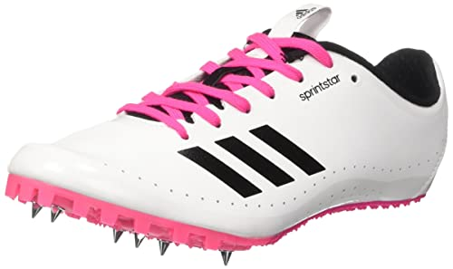 adidas Women's Sprintstar W Track and Field Shoes, Multicolor (FTWR White/Core  Black