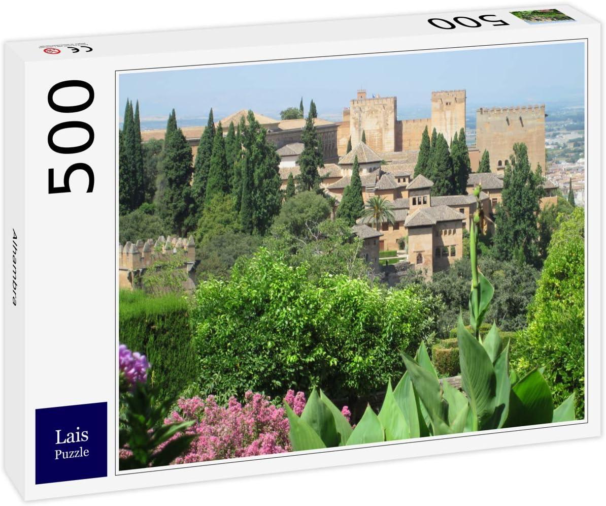 Lais Puzzle Alhambra 500 Piezas: Amazon.es: Juguetes y juegos