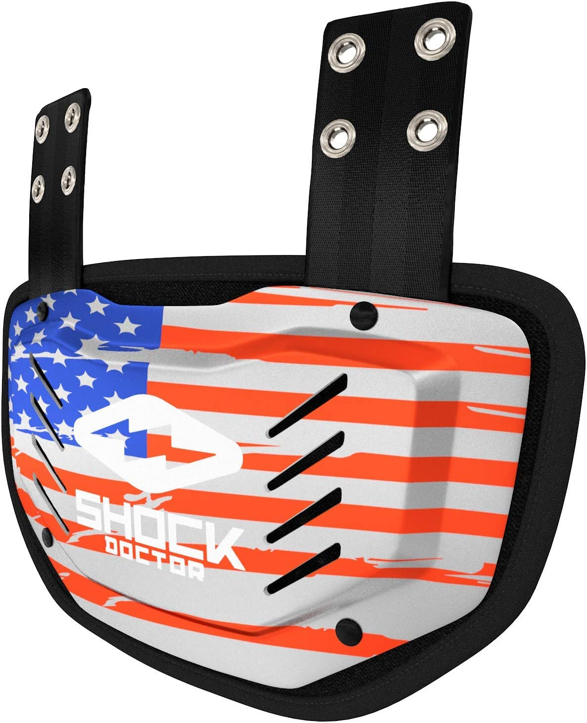 Shock Doctor Football Back Plate – Lower Back/Rear/Back Bone Protector Shield Backplate. for Youth, Adult, Kids.