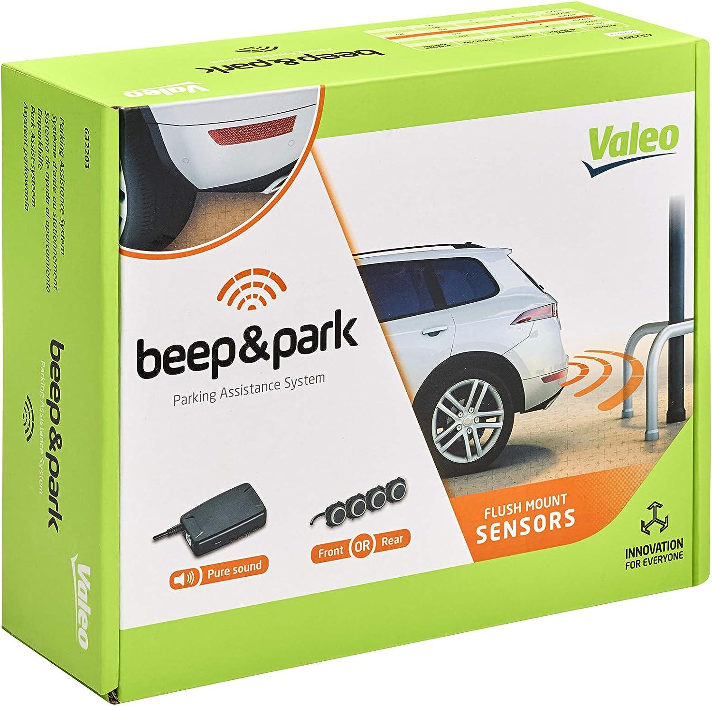 VALEO LED Display Gray Black Brown Reverse Parking Distance PDC SET 632013 3pcs