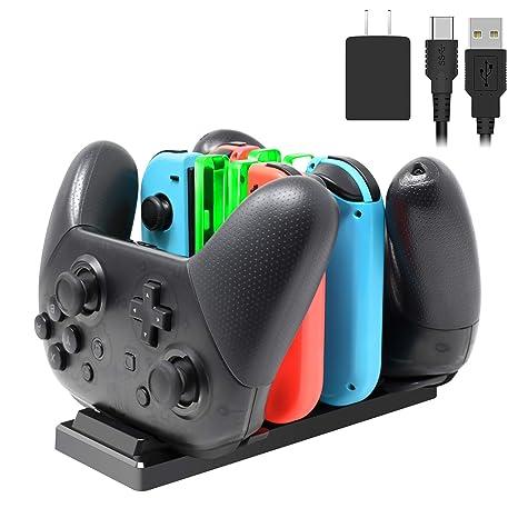 Amazon.com: FYOUNG - Base de carga para controladores y Joy ...