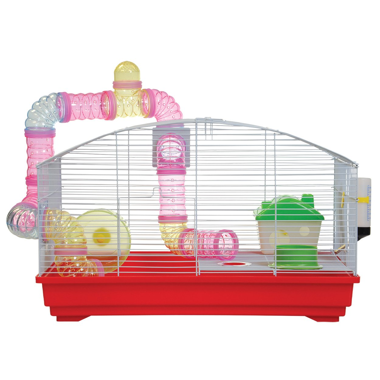 Animal Treasures YDE102 RED Red Deluxe Hamster Kit