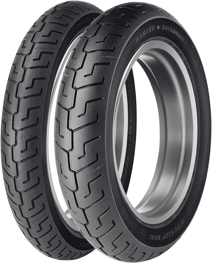 Dunlop American Elite Rear Motorcycle Tire Black Wall for Harley-Davidson Dyna Low Rider FXDL 2006-2009 73V 160//70B-17