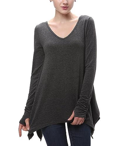 Aissy - Camiseta de manga larga - para mujer