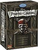 Pirates des Caraibes Tetralogie (La Malediction du Black Pearl/Le Secret du Coffre maudit/Jusqu'au bout du monde/La fontaine de jouvence/1 disque bonus La fontaine de jouvence) [Blu-ray]