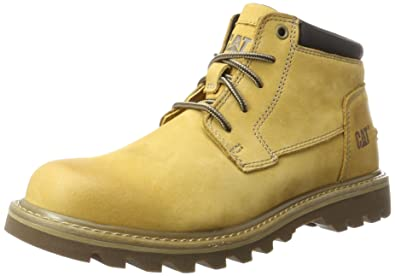 4b819352caa160 Caterpillar Doubleday Chukka Boots, Yellow (Mens Honey Reset), 12 UK 46 EU