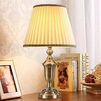 Couleur Chevet Minimaliste Table Moderne Cuivre Lampe Chambre Wyqlz SUGqpzMV
