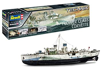 Revell- Técnica - Maqueta de Barco - Flower Class Corvette ...