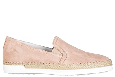 Tod's Damen Xxw0tv0j970lcam610 Beige Wildleder Slip on Sneakers Yb5Rt1