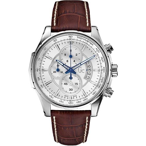 Guess - Gc - Reloj Hombre Collection technoclass x81001g1s: Amazon.es: Relojes