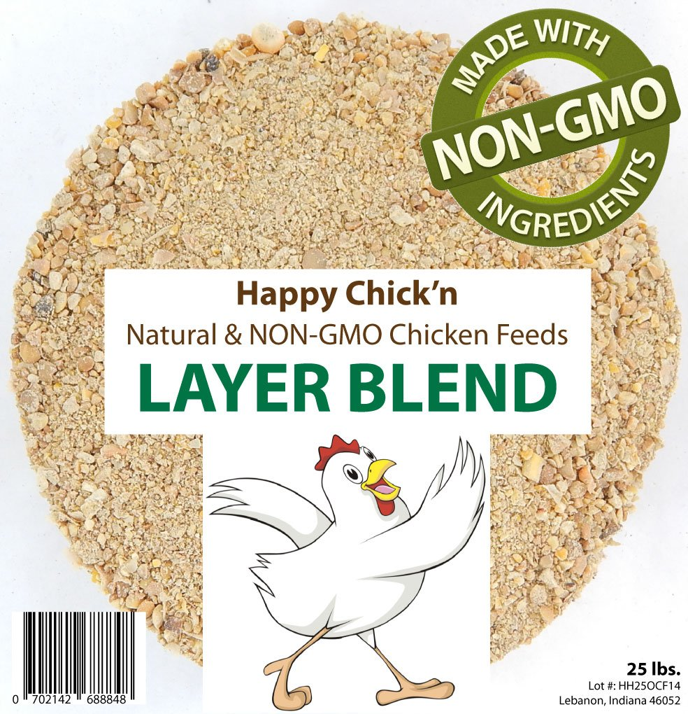 Homesteader Hobbies Non-GMO Layer Chicken Feed, 25 lbs. by Homesteader Hobbies
