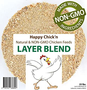 Amazon Natural And Non Gmo Poultry Layer Feed 50 Lbs