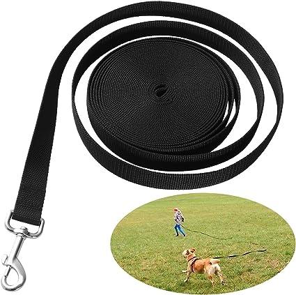 UEETEK Perro obediente cuerda Nylon largo mascota perro formación ...