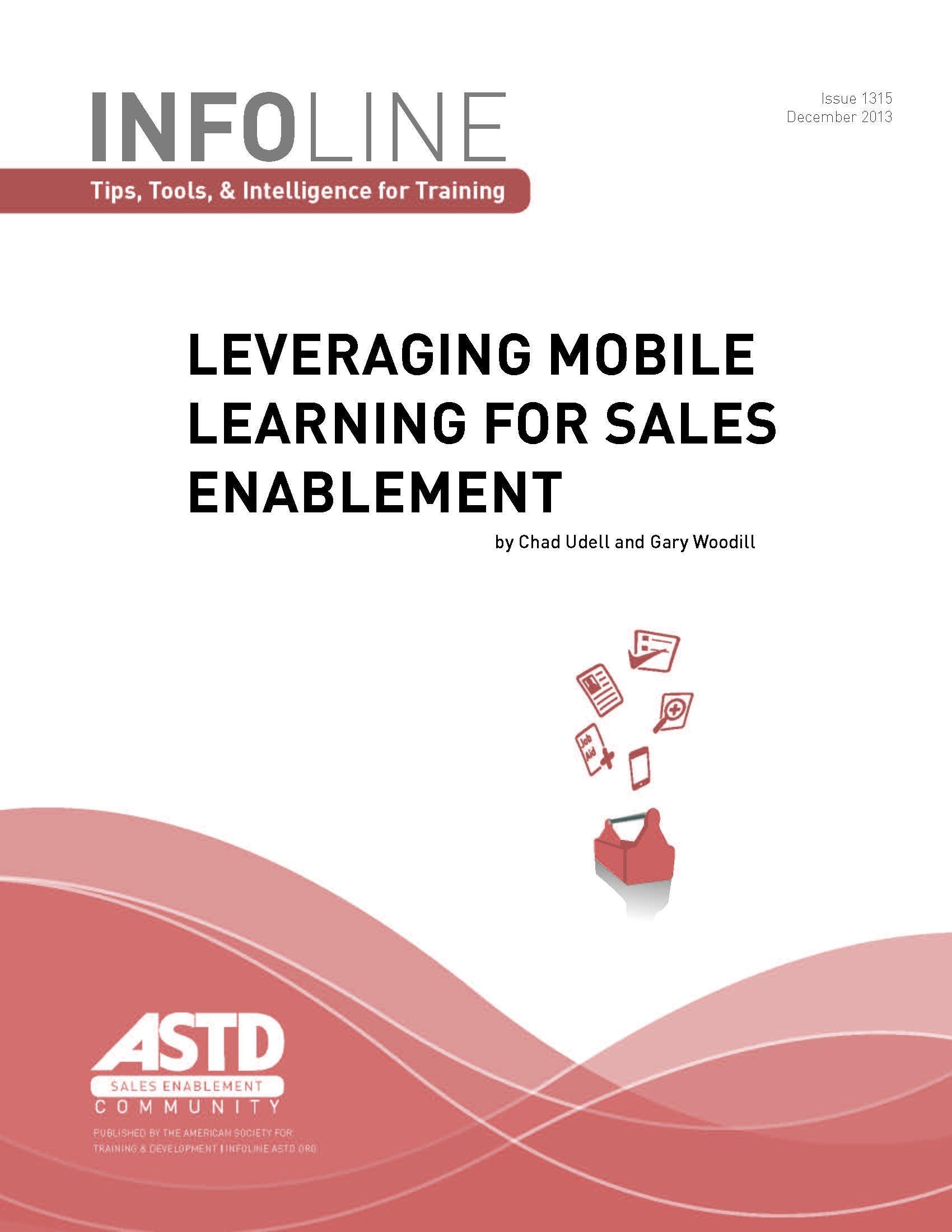Download Leveraging Mobile Learning for Sales Enablement pdf