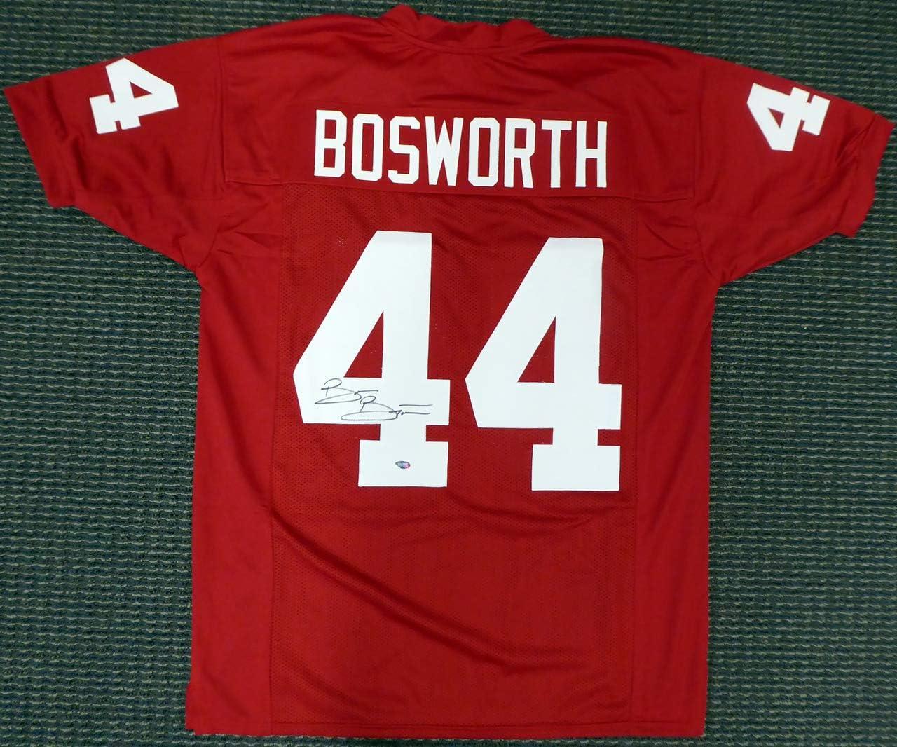 Brian Bosworth Oklahoma Sooners Jordan Football Jersey - White