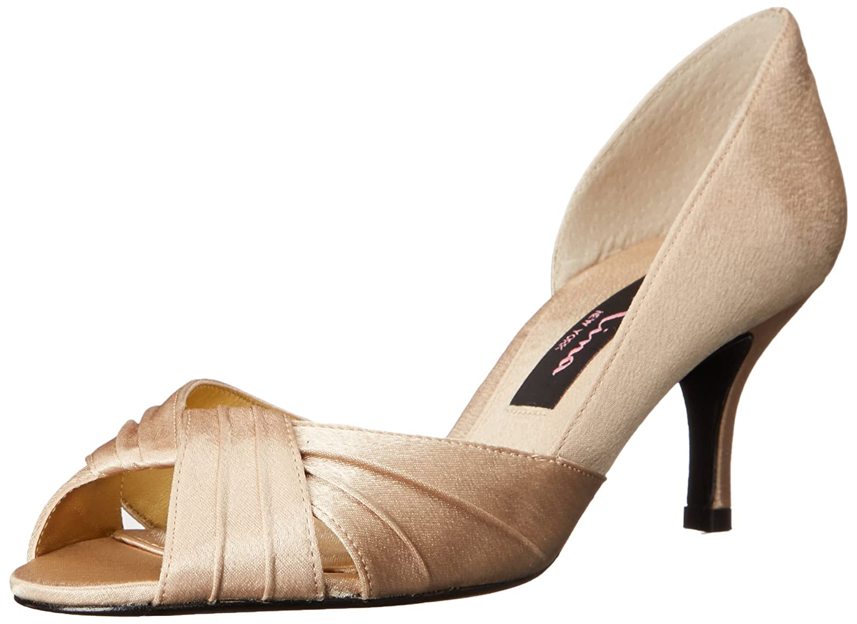 Nina Women's Culver-YS Dress Pump B001TS8P3Q 9.5 B(M) US|Gold