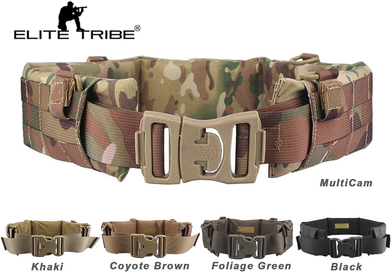 Elite Tribe Airsoft Carrier cinturón táctico Molle Acolchado ...