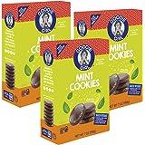 Goodie Girl Gluten Free Cookies | Mint Cookies | Gluten Free | Peanut Free | Egg Free | Kosher (7oz Boxes, Pack of 3)