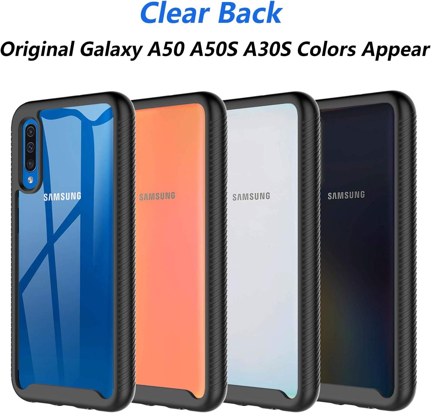 CASEWRS Funda para Samsung Galaxy A50 A30s A50s Carcasa Caso Silicona Anti-Ara/ñazos Absorci/ón de Choque con Marco Reforzado de TPU Suave y Esquinas Reforzadas para Samsung Galaxy A50 A30s