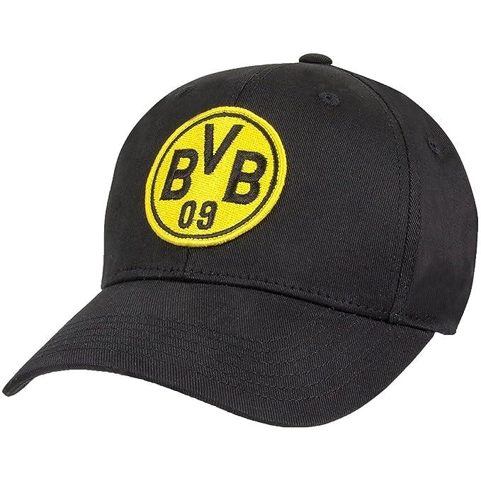 cheap for discount 9b3e3 7542d PUMA Mens BVB Fan Stretch Fit Flexfit Hat, Black, One Size
