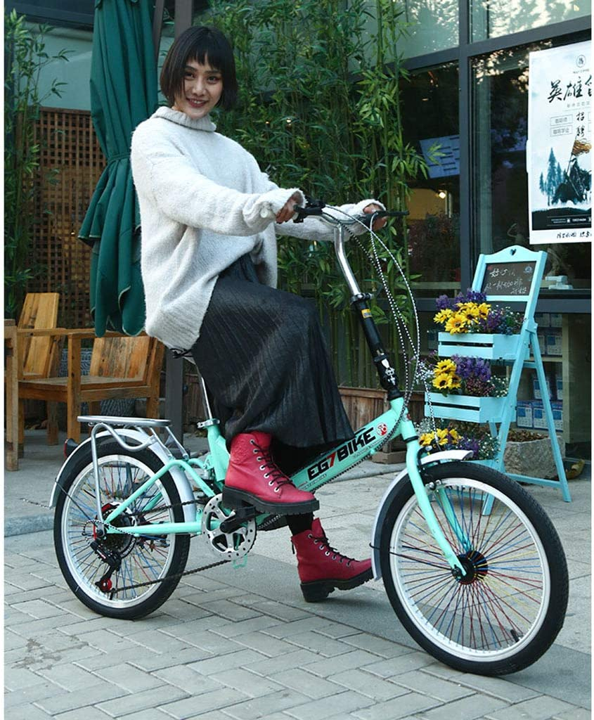 Elípticas Bicicleta Bicicleta Unisex Bicicleta Plegable Ruedas De ...