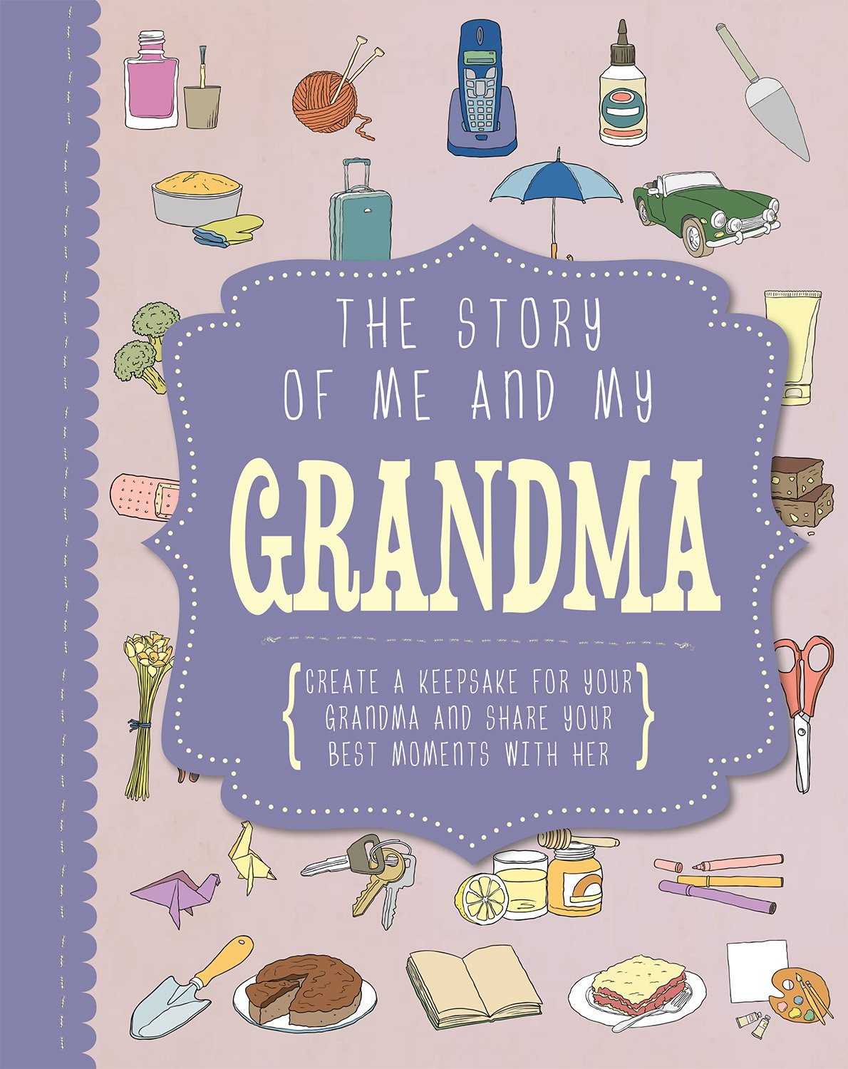 Amazoncom The Story Of Me And My Grandma Life Canvas