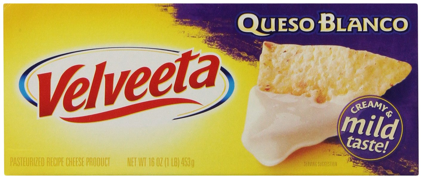 Velveeta Queso Blanco Loaf, 16 Ounce (Pack of 12)