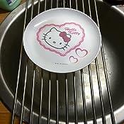 Xcellent Global enroulable /Égouttoir en acier inoxydable Passoire /Égouttoir /à vaisselle Plateau 23*48/cm M-hg064
