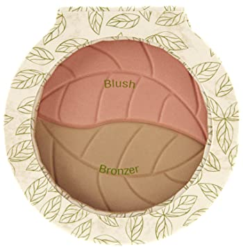 Physicians Formula Organic Wear Bronzer & Blush, 2-in-1, Light Bronzer/Soft Ginger 1058