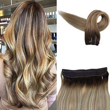 Amazon Com Easyouth 18 Secret Hair Extensions Balayage Color 3