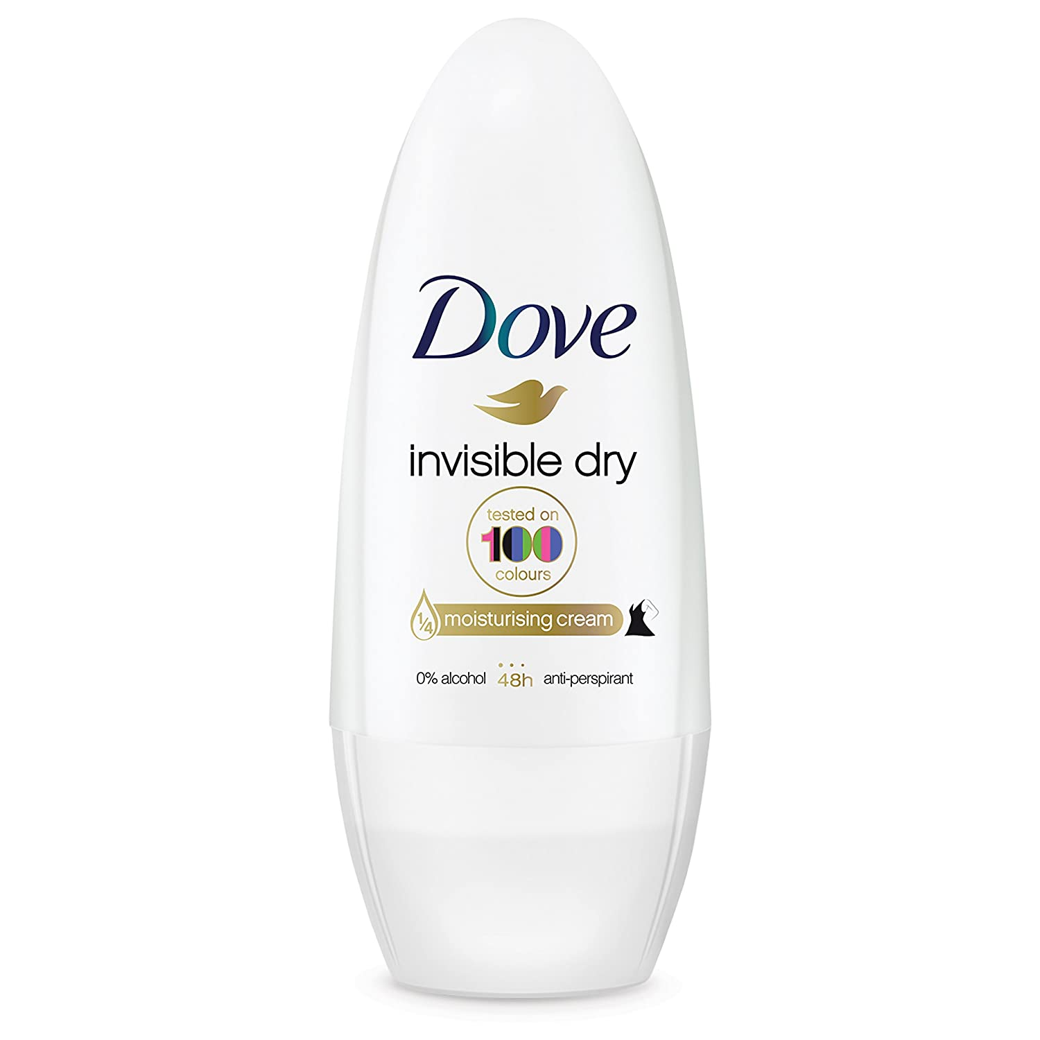 Dove Invisible Dry Deo Roll-On 50 Ml - 50 Mililitros