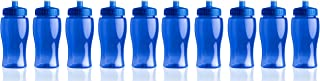 product image for Gary Plastic Packaging 18oz BPA Free PETE Sports Bottle (10 Pack) with Push-Pull Lid