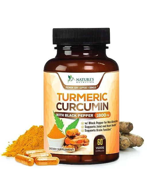 Turmeric Curcumin Max Potency.