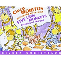 Cinco Monitos Brincando En La Cama / Five Little Monkeys Jumping On The Bed (Five