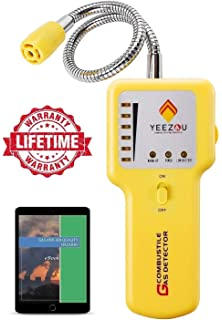 Y201 Propane and Natural Gas Leak Detector; Portable Gas Sniffer to Locate Gas Leaks of