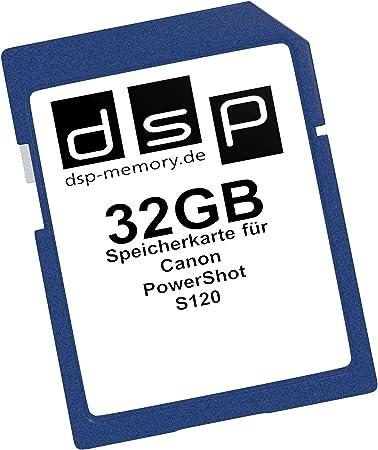 Dsp Memory 32gb Speicherkarte Für Canon Powershot S120 Computer Zubehör