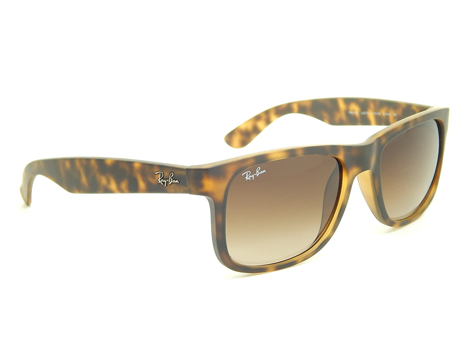 2aba5149c2e New Ray Ban Justin RB4165 710 13 Tortoise  Brown Gradient 55mm Sunglasses   Amazon.co.uk  Clothing