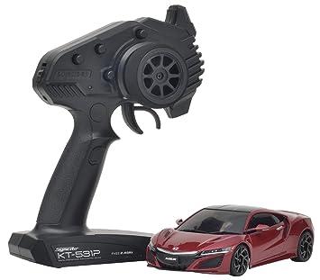 Amazon Com Kyosho Mini Z Rwd Acura Nsx Hobby Grade Rc Car Red