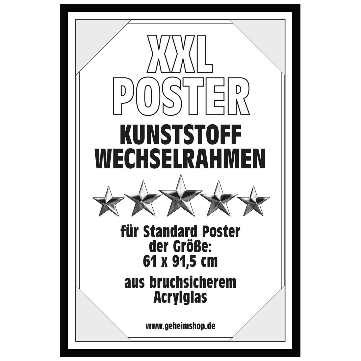 Posterrahmen Wechselrahmen Bilderrahmen Kunststoff Wechsel-Rahmen ...