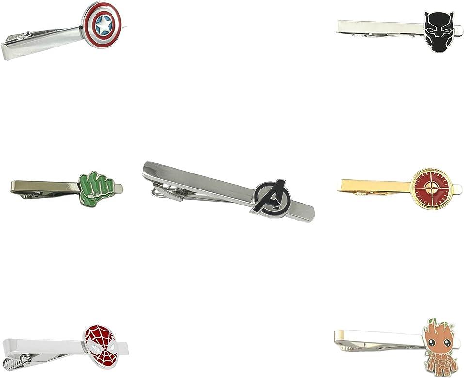 Outlander Marvel Comics – Juego de 7 broches para corbata de los ...