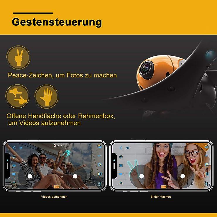 Einsteigerdrohne Aufnahmen ScharkSpark SS41 Kamera