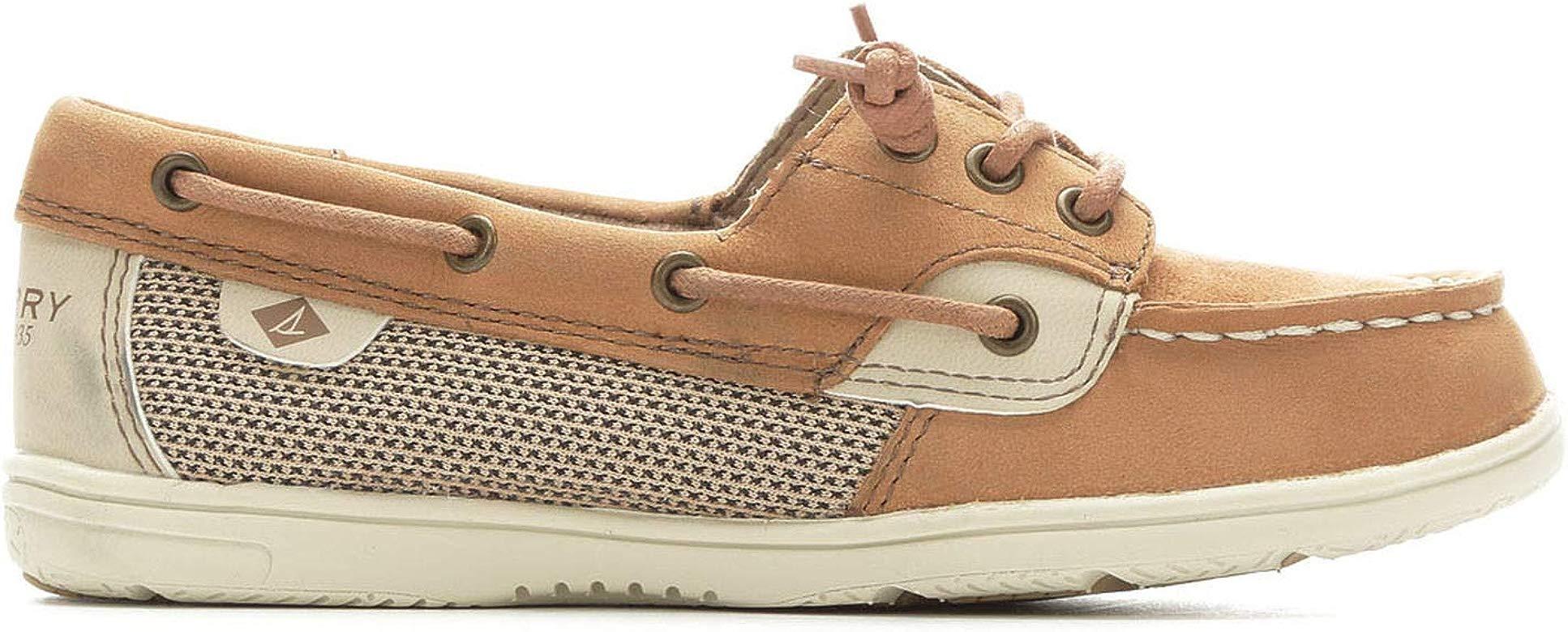 Sperry Top-Sider Kids Shoresider Jr Crib Shoe Linen//Oat