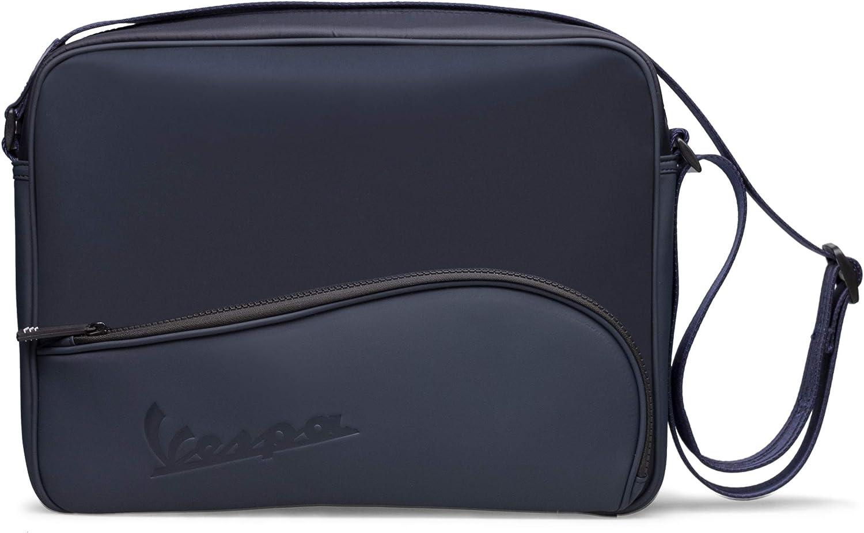 BR.EX SA Design Trading Vespa - Bolsa TASK con la correa de hombro ajustable, para hombre y mujer