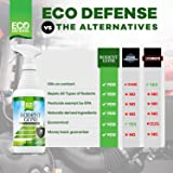 Eco Defense Mice Repellent - Natural Peppermint Oil Formula to Repel Mice, Rats, and Other Rodents - Humane Mouse Trap Alternative