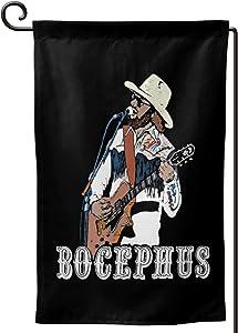 "Keyvic Hank Williams Jr. Bocephus Country Music Retro 12.5""X18"" Garden Flag Double Sided Printing"
