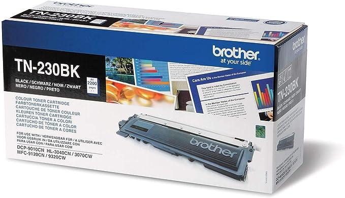 Brother Original Tonerkassette Tn 230bk Schwarz Für Brother Dcp 9010cn Mfc 9120cn Hl 3040cn Hl 3070cw Mfc 9320cw Bürobedarf Schreibwaren
