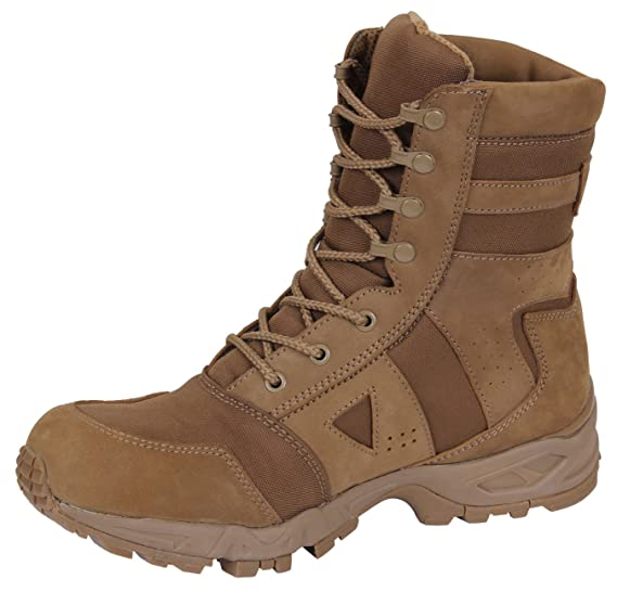 Amazon.com   Rothco AR 670-1 Coyote Forced Entry Tactical Boot ... 67459cbb62