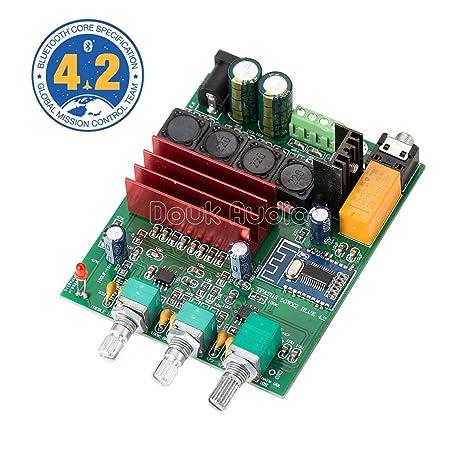 Nobsound 100W Bluetooth 4.2 TPA3116D2 2.0 Channel Digital Power Amplifier Board Stereo Amp Home Speaker Car