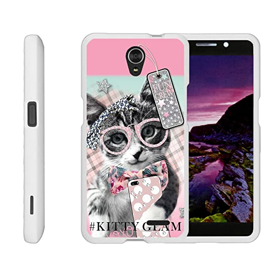 lowest price 1e3d1 8d5bb Compatible for ZTE Sonata 3 Case | Maven 2 Case | Chapel Case [Slim Duo]  Ultra Slim Matte Hard 2 Piece Cover Compact Cool Design on White by ...